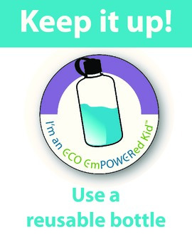 Eco Action Motivation Signs