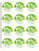 Eco Action Sticker Templates