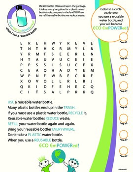 Eco Action Word Searches