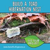Eco Club - Build Toad Hibernation Nests - Outdoor Winter A