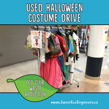 Eco Club / Eco Team - Used Halloween Costume Drive - Recycle your textiles