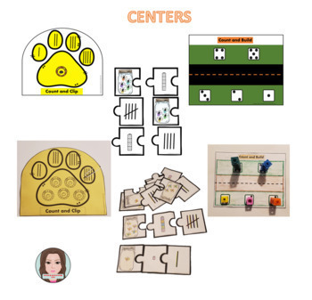Eco Lesson Plan 1.2 Counting 1 to 5 Using Tally and Math Cubes