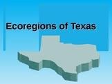 Eco-Regions of Texas PPT