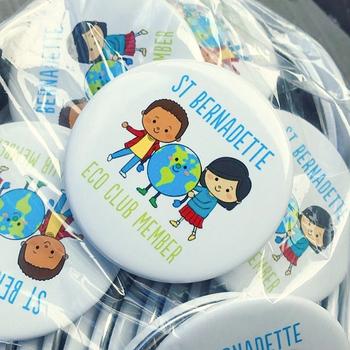 Earth Day - School Contest Idea - Eco Team Button Art Contest