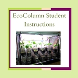 EcoColumn Student Instructions with Pictures