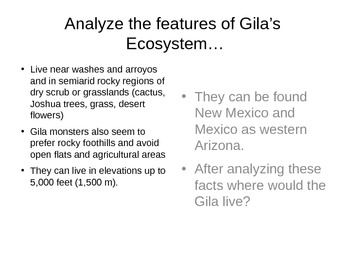 EcoSystems: The Gila Monster