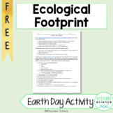 Ecological Footprint Activity & Reflection (Environment Ea