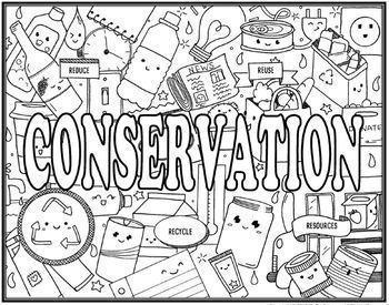 Ecological Impact Seek & Find Doodle Page Bundle