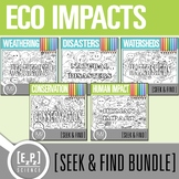 Ecological Impacts Seek and Find Science Doodle Page Bundle