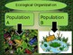 Ecological Organization PowerPoint Notes