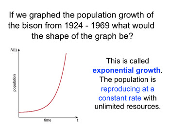 Ecological Population Growth Complete Lesson