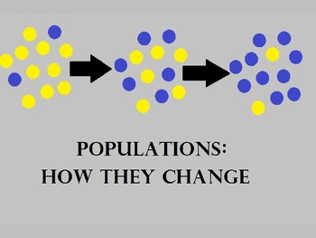 Ecological Populations and How They Change