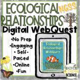 Ecological Relationships DIGITAL WebQuest (Predation, Comp