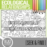 Ecological Relationships Seek and Find Science Doodle Page
