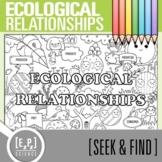 Ecological Relationships Seek & Find Doodle Page