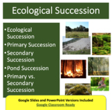 Ecological Succession Lesson - Google Slides and PowerPoin