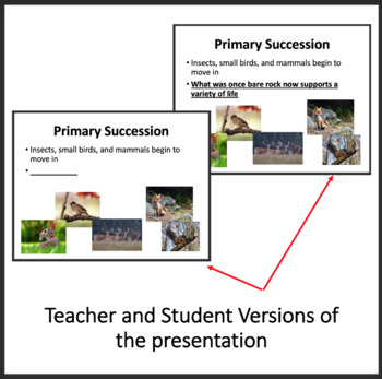Ecological Succession Lesson - Google Slides and Distance Learning Ready