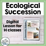 Ecological Succession - Changes in Ecological Communities
