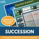 Ecological Succession Complete 5E Lesson Plan