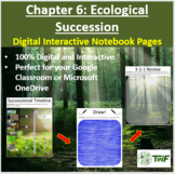 Ecological Succession - Digital Interactive Notebook Pages