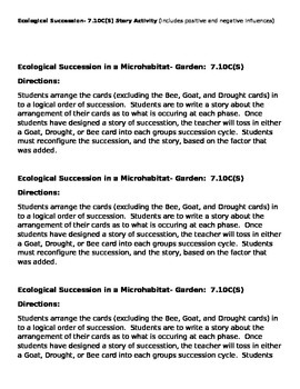 Ecological Succession- Garden
