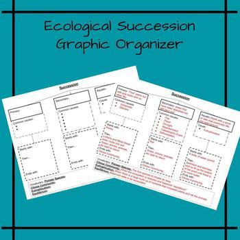 Ecological Succession Graphic Organizer
