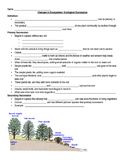 Ecological Succession Notes-Shell