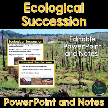Ecological Succession Powerpoint And Notes By The Science Duo Tpt