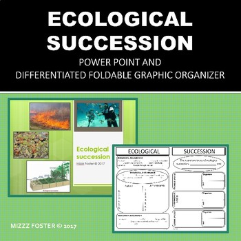 Ecological Succession Powerpoint and Differentiated Foldables for INB