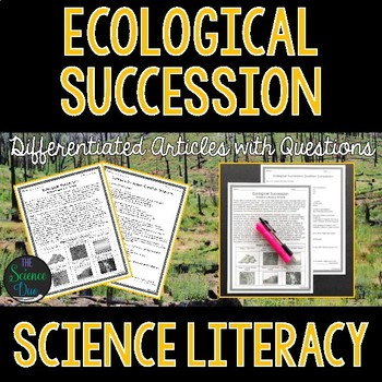 Ecological Succession  - Science Literacy Article