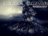 Ecological succession webquest perfect sub 6th 7th 8th test review TEKS 7.10(C)