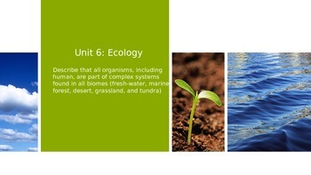 Ecology-