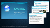 Ecology 1 PowerPoint Lesson and Writing Activity