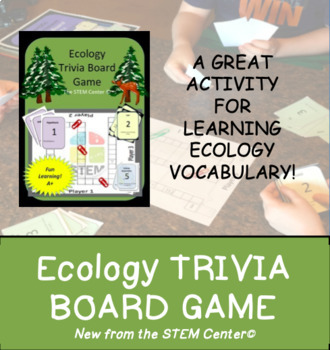 Ecology Trivia Board Game!