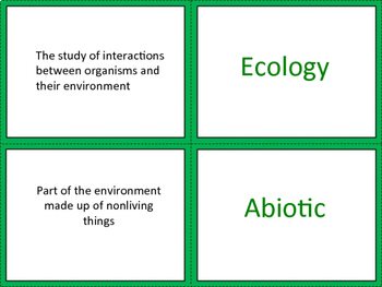 Ecology - Distance Learning Friendly