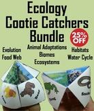 Ecology Activities Bundle: Animal Habitats, Food Web, Biomes, Water Cycle, etc.