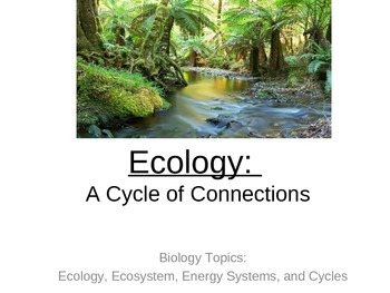Ecology: Ecosystems, Energy Cycles, and Environment PowerPoint