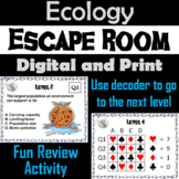 Ecology Activity: Biology Escape Room - Science