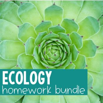 Ecology Activity Bundle
