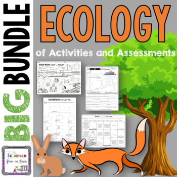 Ecology BIG Bundle of Activities and Assessments