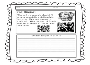Ecology Bell Ringers for Middle School - Editable PPT