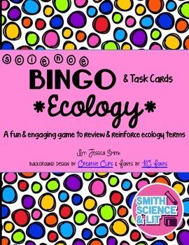 Ecology Bingo