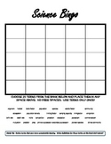 Ecology - Biology - Life Science Bingo, Review Vocabulary Activity