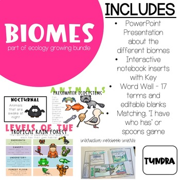 Ecology - Biomes