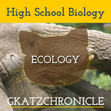 Ecology Bundle - Distance or Traditional Learning
