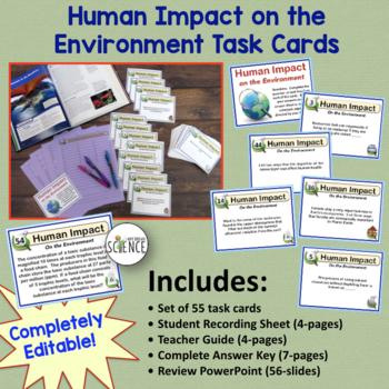 Ecology Bundle: Human Impact on the Environment