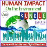 Ecology Bundle: Human Impact on the Environment | Distance Learning