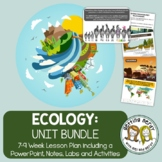 Ecology & Ecosystems - PowerPoint & Handouts Bundle - Distance + DIGITAL Lesson