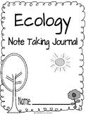 Ecology CKLA Note Taking Journal
