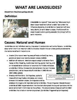Ecology Case Study- LANDSLIDE PREVENTION- erosion onWhidbey Island Landslide
